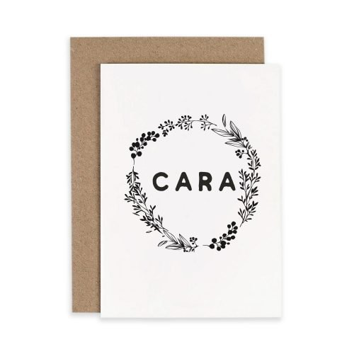 Cara Friend Friendship Irish Greeting Card Consciously Made In Ireland