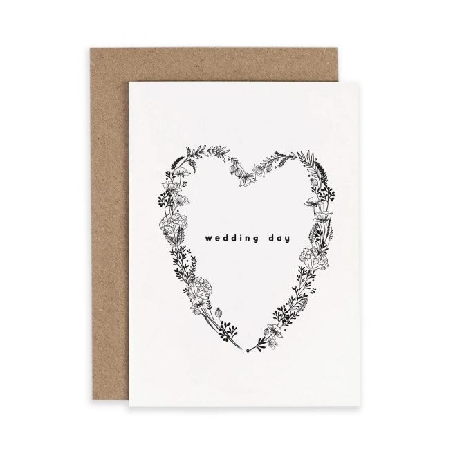 Wedding Day Irish Greeting Card Consciously Made In Ireland
